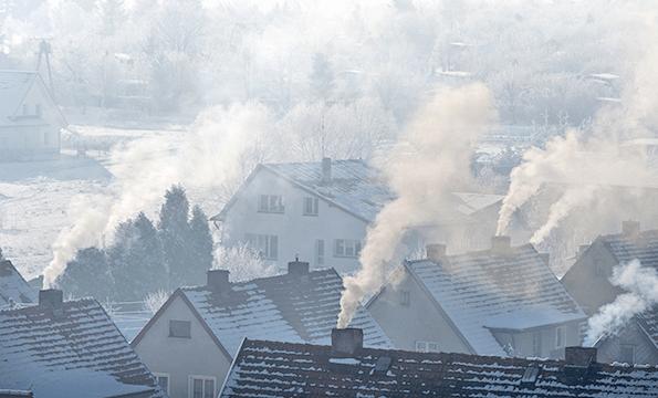 smog w powietrzu